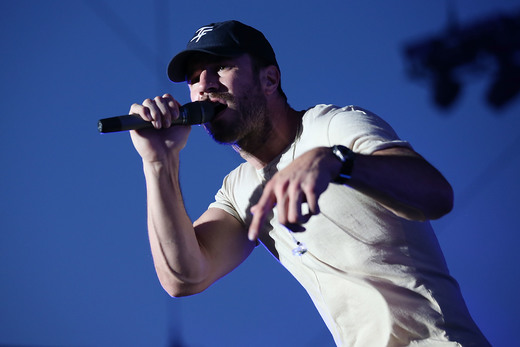 Sam Hunt performs at Stagecoach 2016 during a Bud Light Music Stage Moment at The Empire Polo Club on April 29, 2016 in Indio, California.